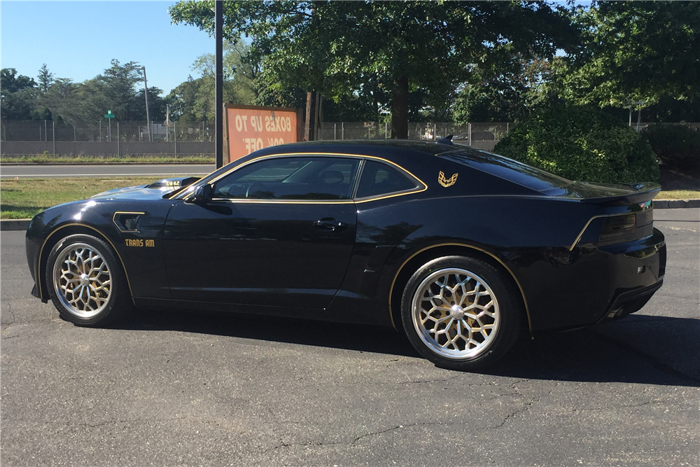 2013 chevrolet camaro custom trans am conversion side profile. Cars Review. Best American Auto & Cars Review