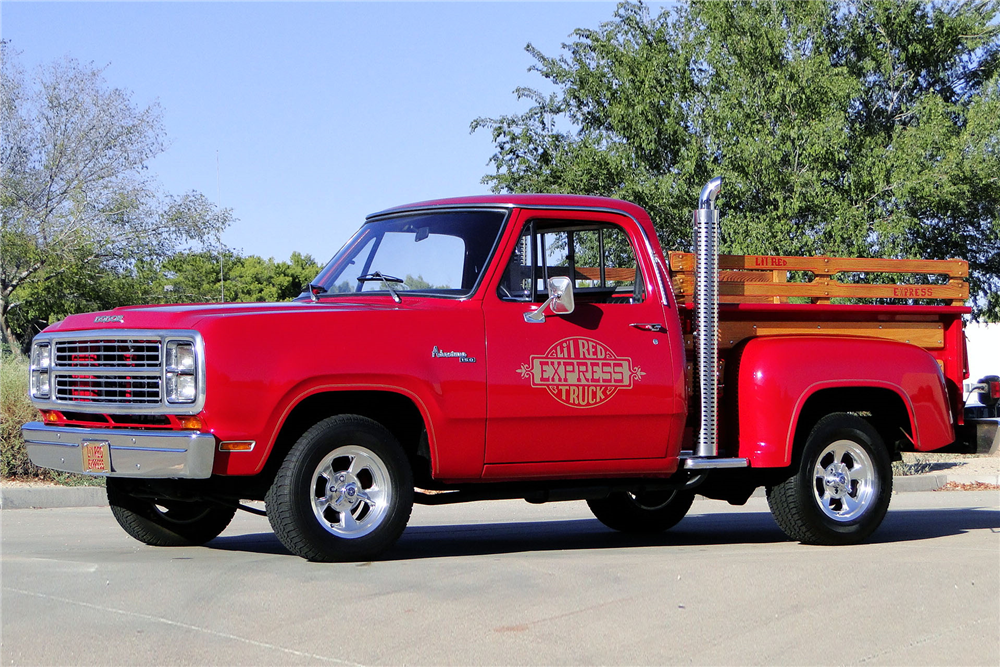 1979 dodge lil red express pickup front 3 4 198969. Cars Review. Best American Auto & Cars Review