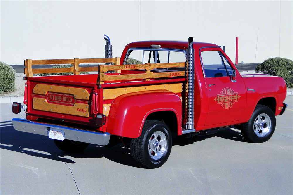 1979 dodge lil red express pickup rear 3 4 198969. Cars Review. Best American Auto & Cars Review