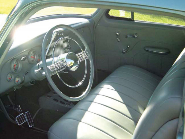 1953 BUICK CUSTOM 2 DOOR HARDTOP - Interior - 19897