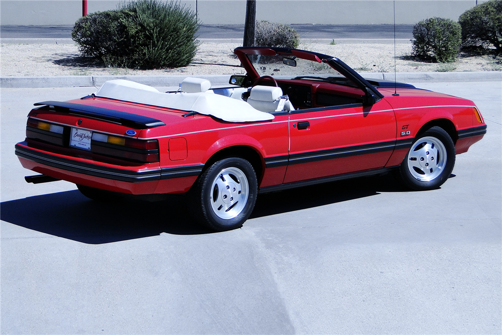 1983 ford mustang gt convertible 198974. Black Bedroom Furniture Sets. Home Design Ideas