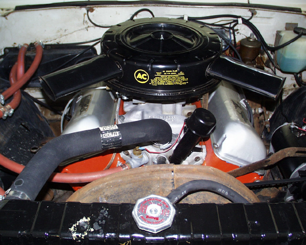 1962 CHEVROLET BISCAYNE SEDAN - Engine - 19902