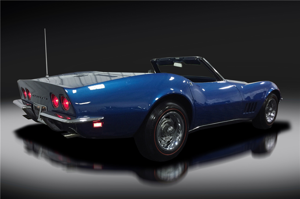 1968 CHEVROLET CORVETTE 427/435 CONVERTIBLE - 199033