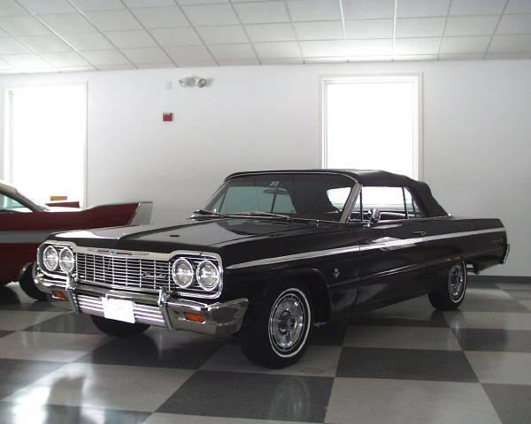 1964 CHEVROLET IMPALA SS 409 CONVERTIBLE - Front 3/4 - 19904