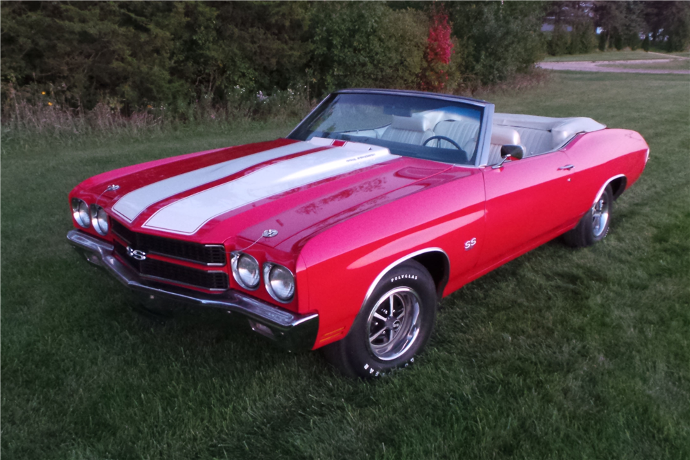 1970 Chevrolet Chevelle Ss 454 Convertible Re Creation