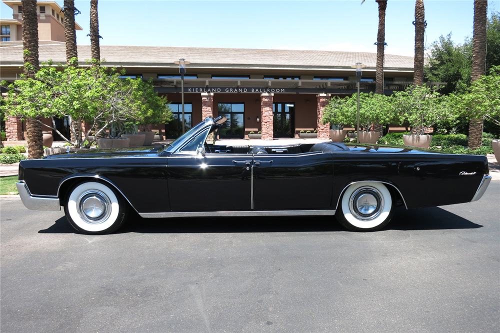 1967 LINCOLN CONTINENTAL CONVERTIBLE - 199128