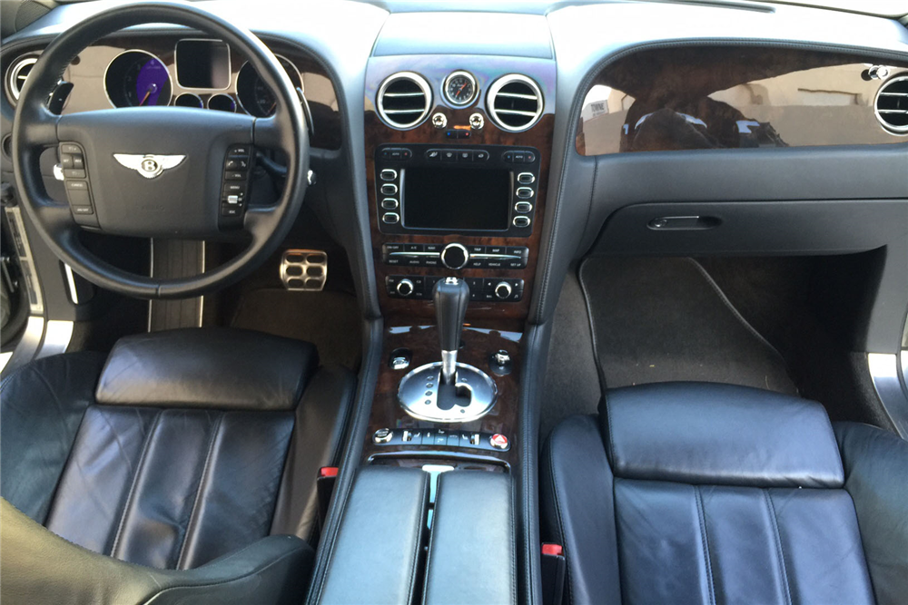 2005 bentley continental gt interior