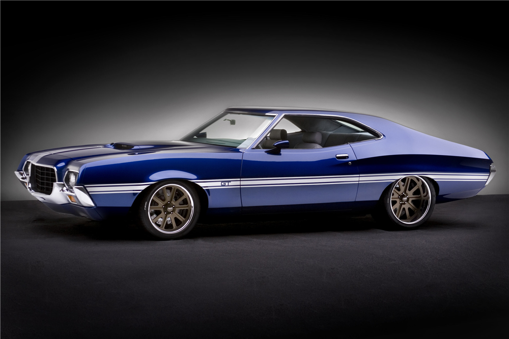Grand National Car >> 1972 FORD TORINO GT CUSTOM SPORTSROOF COUPE - 199175