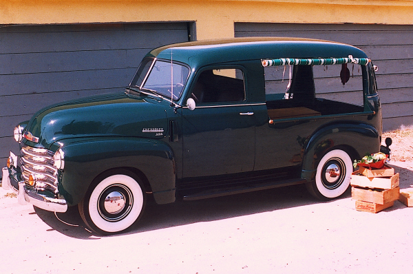 1949 CHEVROLET CANOPY EXPRESS - Side Profile - 19923