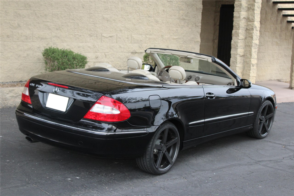 2009 mercedes benz clk350 convertible 199238