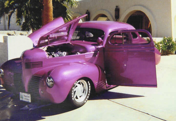 1939 DODGE CUSTOM BUSINESS COUPE - Front 3/4 - 19924