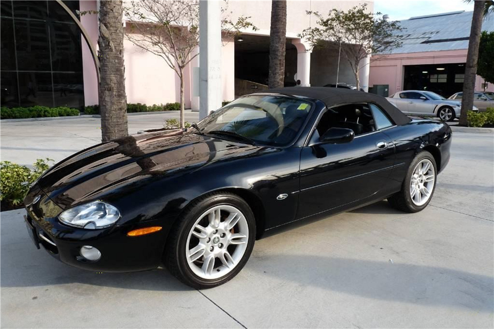 Online Car Auction >> 2001 JAGUAR XK8 CONVERTIBLE