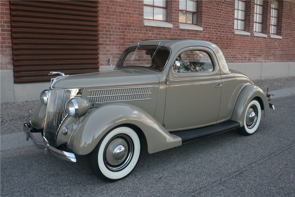 1936 ford deluxe 3 window coupe 199252