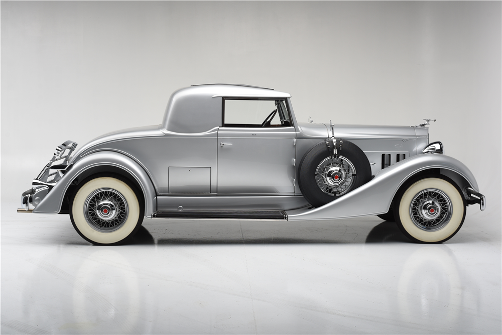 1934 PACKARD EIGHT RUMBLE SEAT COUPE - 199289