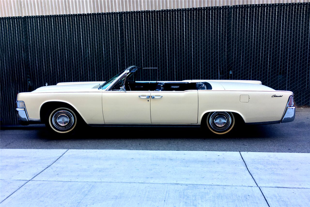 1965 lincoln continental convertible 199306. Black Bedroom Furniture Sets. Home Design Ideas