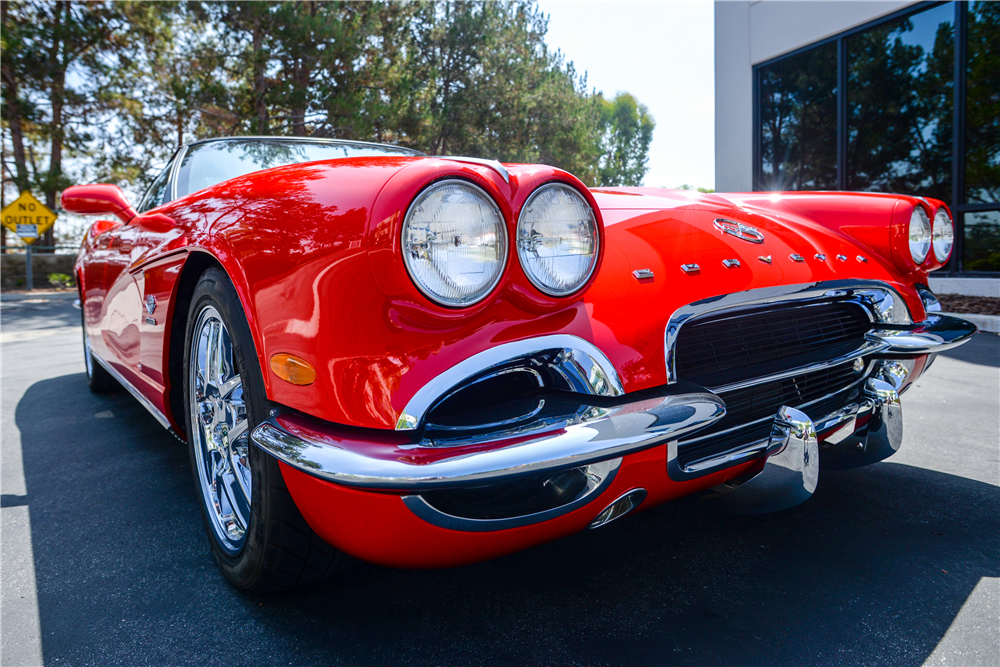 1962 chevrolet corvette crc conversion