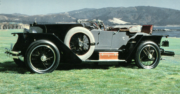 1923 UNKNOWN 28/95 TARGA FLORIO - Front 3/4 - 19938