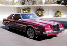 1981 CHRYSLER COUPE - Front 3/4 - 19941