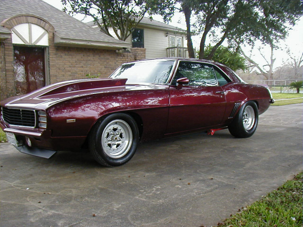 1969 CHEVROLET CAMARO RS/SS COUPE - Front 3/4 - 19942