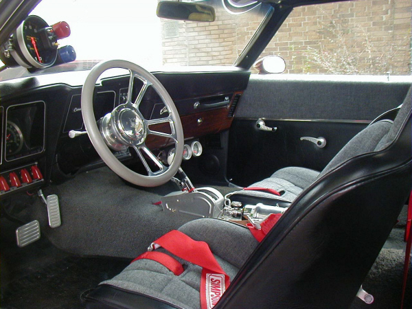 1969 CHEVROLET CAMARO RS/SS COUPE - Interior - 19942