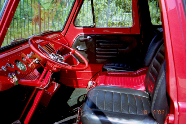 1961 FORD ECONOLINE PICKUP - Interior - 19958