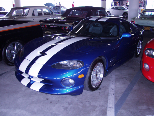 1996 DODGE VIPER GTS HENNESSEY VENOM 600 COUPE - Front 3/4 - 19968