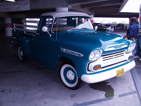 1959 CHEVROLET APACHE STEP-SIDE PICKUP - Front 3/4 - 19972