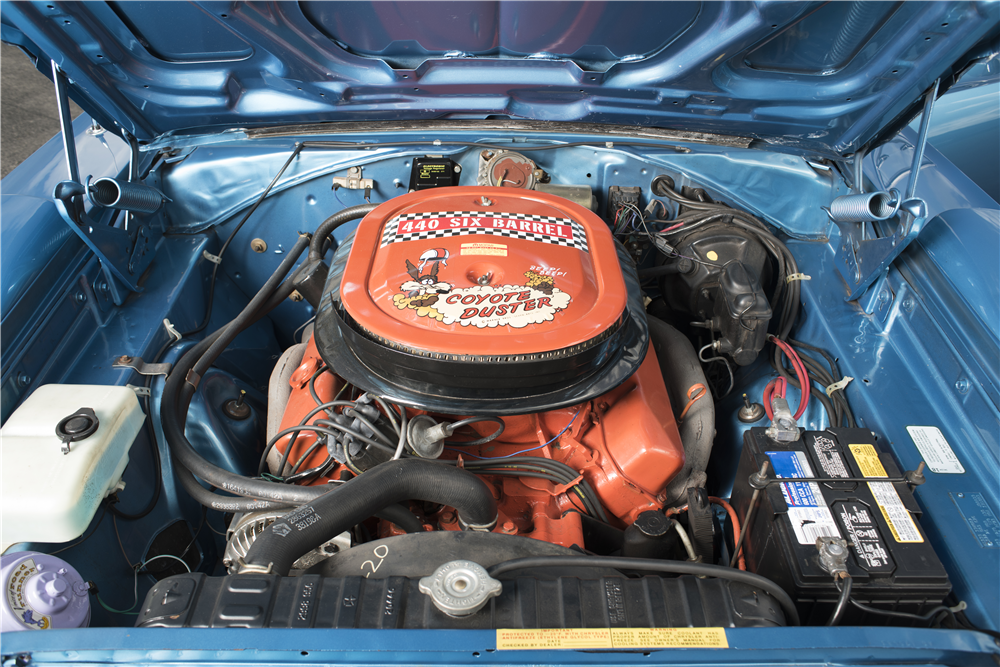 1970 PLYMOUTH SUPERBIRD  - Engine - 200059