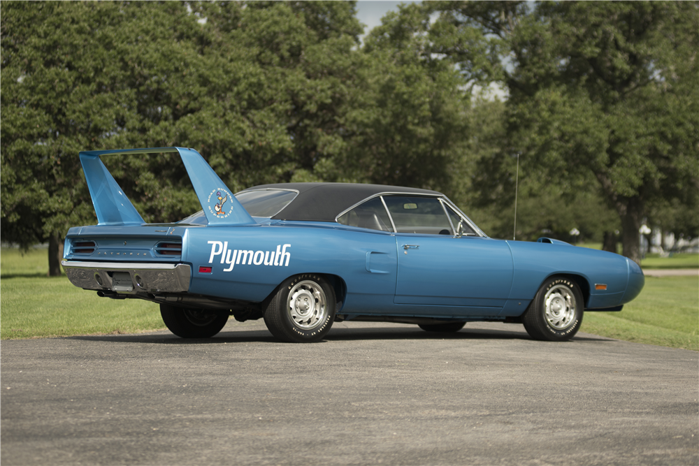 1970 PLYMOUTH SUPERBIRD  - Rear 3/4 - 200059