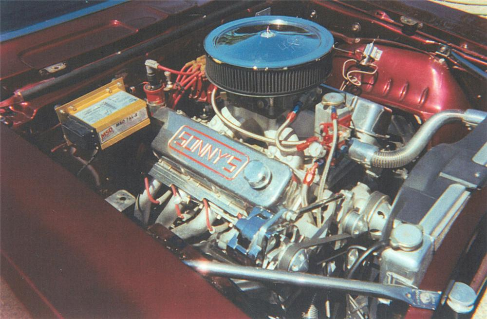1969 CHEVROLET CAMARO SS/RS Z10 COUPE PACE CAR - Engine - 20012