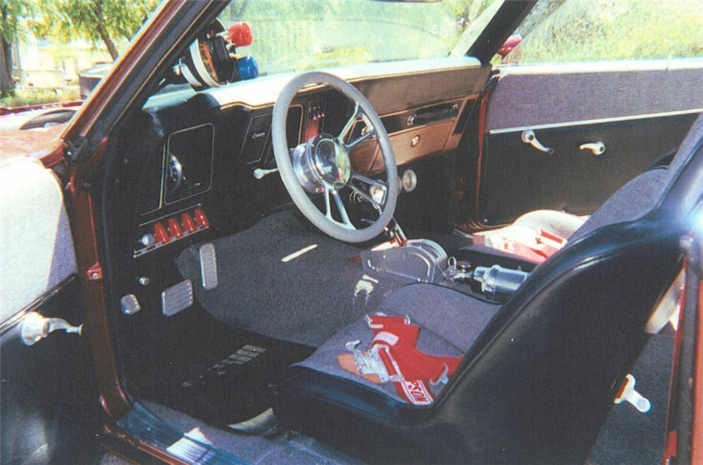 1969 CHEVROLET CAMARO SS/RS Z10 COUPE PACE CAR - Interior - 20012