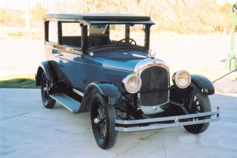 1927 chrysler 2 door sedan 20016 for 1927 nash 4 door sedan