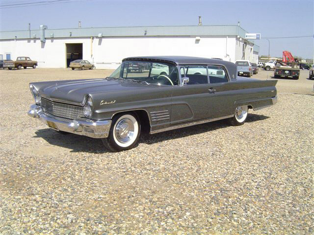 1960 LINCOLN CONTINENTAL MARK V 2 DOOR HARDTOP - Front 3/4 - 20019