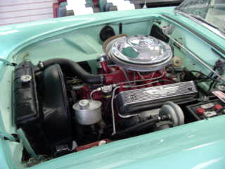 1955 FORD THUNDERBIRD CONVERTIBLE - Engine - 20024
