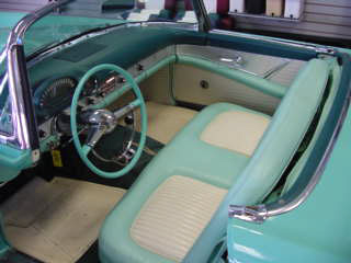 1955 FORD THUNDERBIRD CONVERTIBLE - Interior - 20024