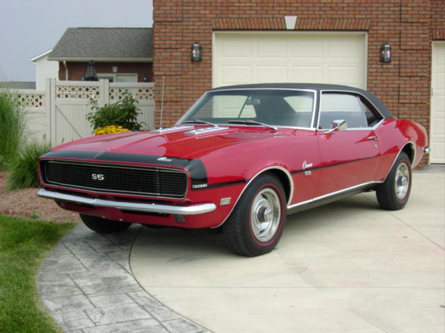 1968 CHEVROLET CAMARO RS/SS SPORT COUPE - Front 3/4 - 20029