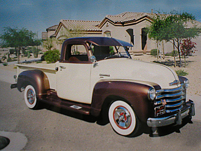 1953 CHEVROLET 3100 PICKUP - Front 3/4 - 20032