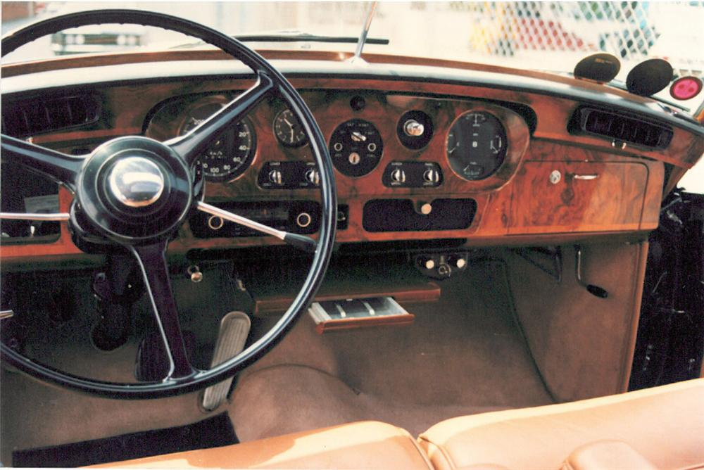 1965 BENTLEY S3 4 DOOR SEDAN - Interior - 20036