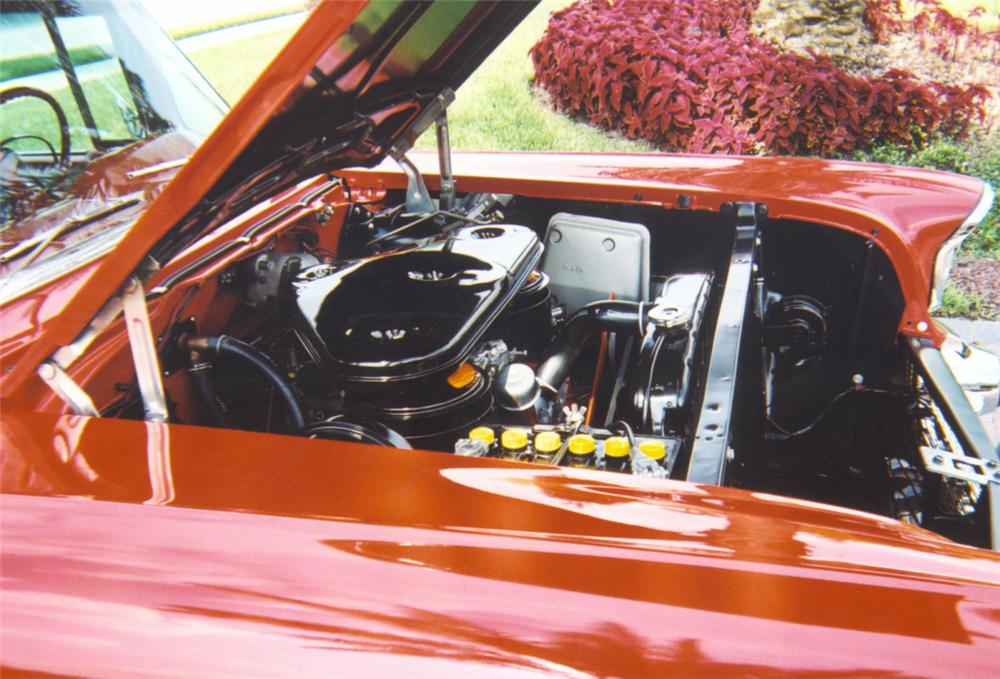 1957 CHEVROLET BEL AIR CONVERTIBLE - Engine - 20043