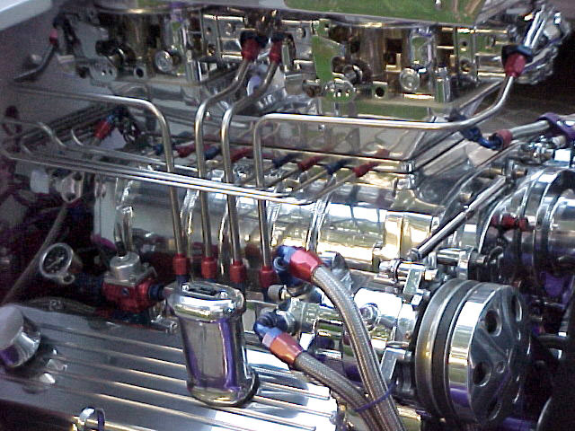 1932 FORD 3 WINDOW COUPE - Engine - 20045