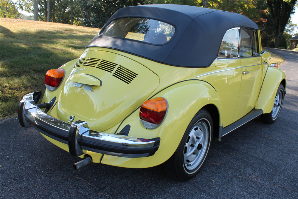 1979 VOLKSWAGEN SUPER BEETLE CONVERTIBLE - 200487