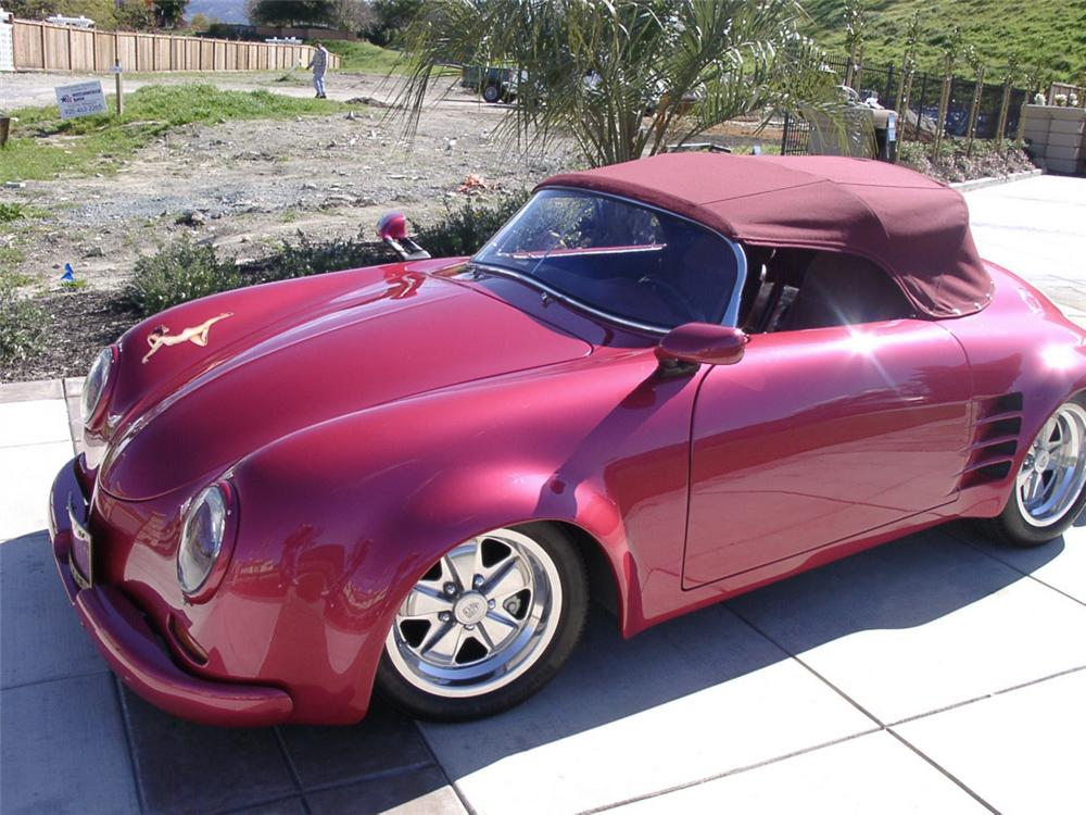 1955 PORSCHE 356 SPEEDSTER RE-CREATION - Front 3/4 - 20050