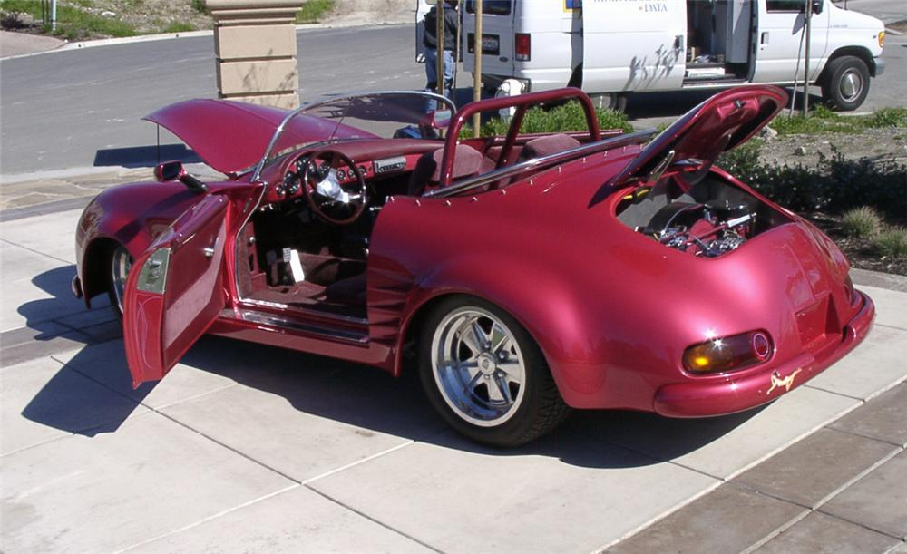 1955 PORSCHE 356 SPEEDSTER RE-CREATION - Rear 3/4 - 20050