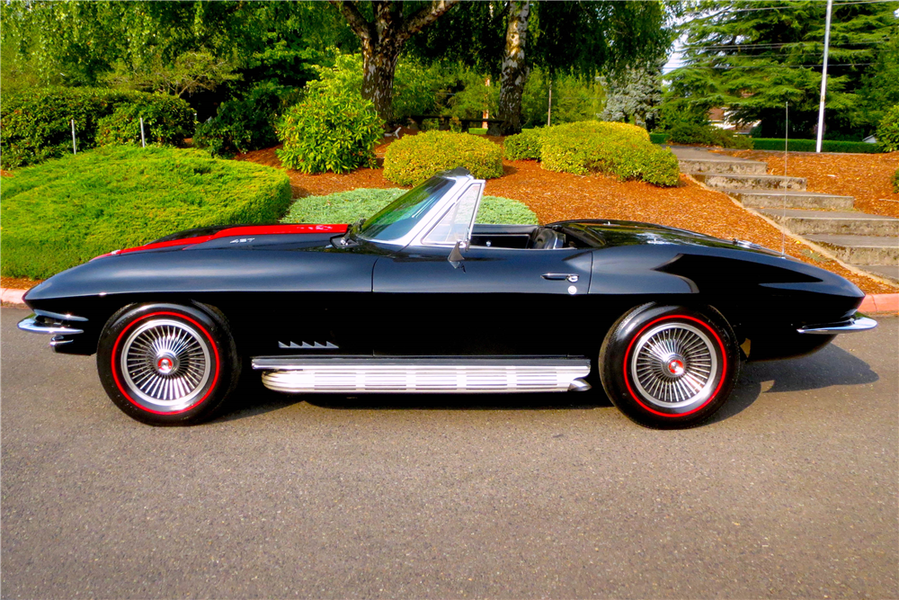 1967 chevrolet corvette 427 390 convertible 200520. Black Bedroom Furniture Sets. Home Design Ideas