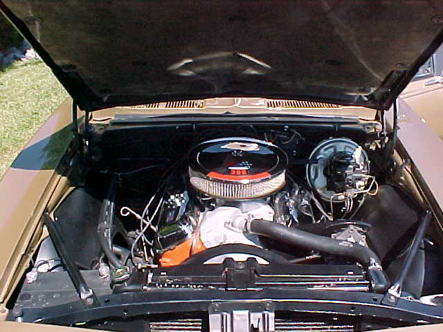 1967 CHEVROLET CAMARO RS/SS SPORT COUPE - Engine - 20056