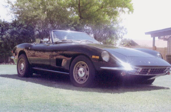 1972 ITALIA CONVERTIBLE - Side Profile - 20060