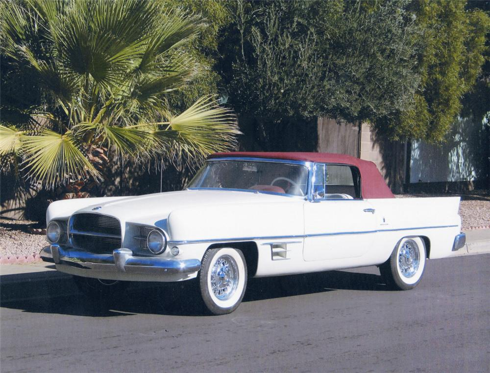 1956 DUAL GHIA CONVERTIBLE - Front 3/4 - 20061