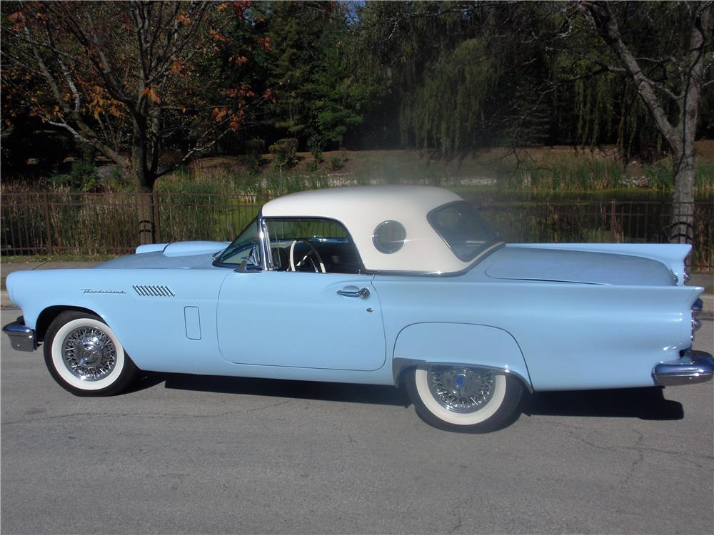 Palm Bay Ford >> 1957 FORD THUNDERBIRD CONVERTIBLE - 200634