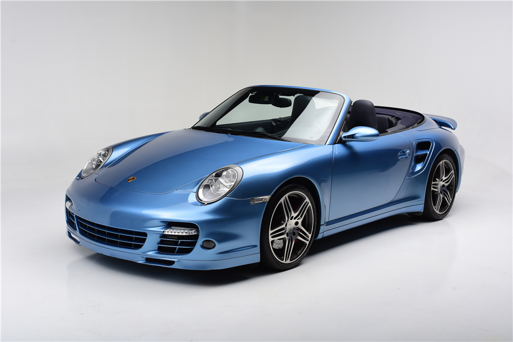 2008 porsche 911 turbo cabriolet 200658. Black Bedroom Furniture Sets. Home Design Ideas