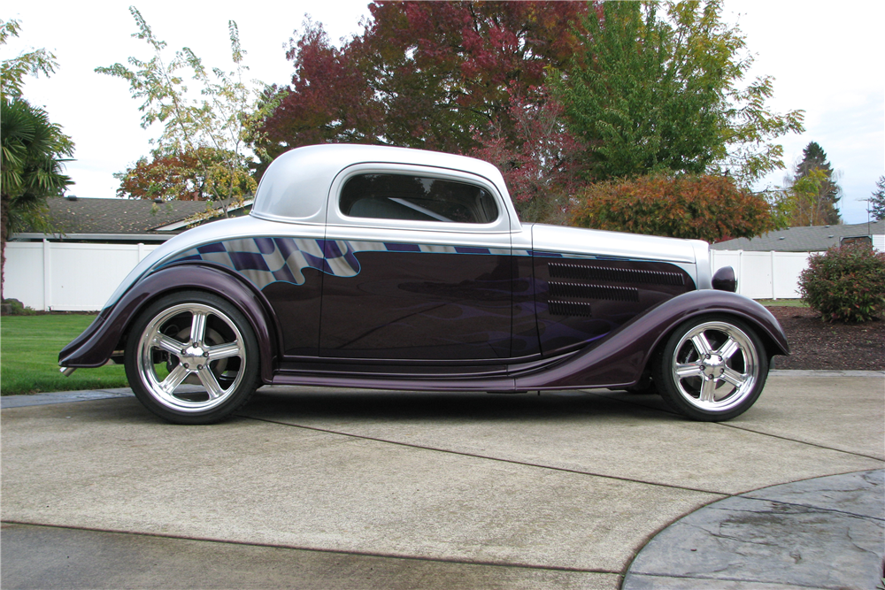 1934 chevrolet 3 window custom coupe 200690